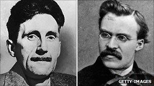 George Orwell and Friedrich Nietzsche