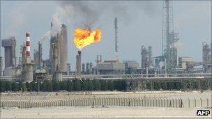 Oil refinery, Qatar