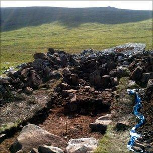 Site in Wales of Neolithic tomb