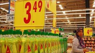 Supermarket in Malaysia
