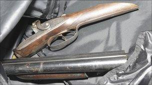 Firearm recovered by Greater Manchester Police