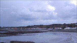 Guernsey's west coast