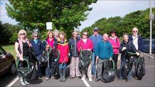 Fairhaven volunteers