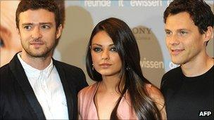 Justin Timberlake, Mila Kunis and Will Gluck