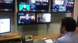 Libya TV in Doha