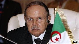 President Abdelaziz Bouteflika (archive shot)