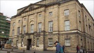 High Court in Edinburgh. Pic: Crown copyright