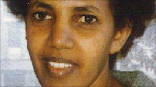 Aster Fissehatsion, one of the 11 detained in Eritrea in 2001