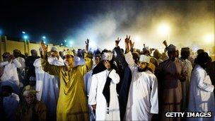 Protests in Muscat on 7 March 2010