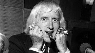 Jimmy Savile in 1974
