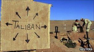 US troops in Afghanistan (file photo)