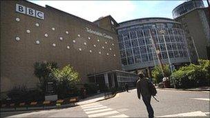 Canolfan Ddarlledu'r BBC yn Llundain