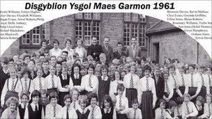 Disgyblion Maes Garmon - 1961