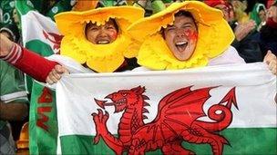 Cefnogwyr Cymru