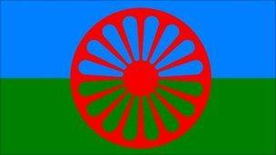 The Romany flag
