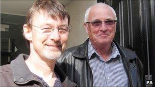 Nick Roundtree and Brian Smyth
