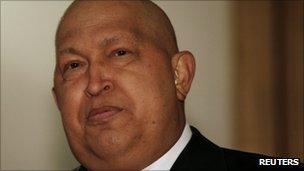 Hugo Chavez on 11 October 2011