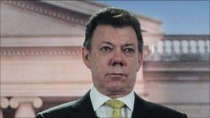 President Juan Manuel Santos of Colombia