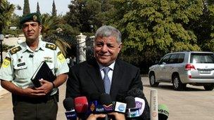 Awn al-Khasawneh, the new Jordanian PM - October 2011