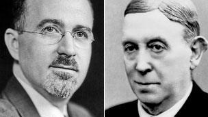 Walter Freeman and Egas Moniz