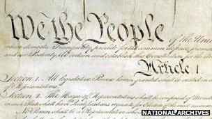 The US constitution