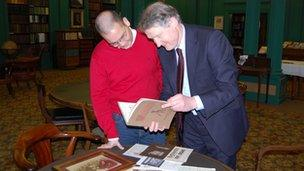 Nicholas Wong and Jonathan Rushworth examine some of the store's archive