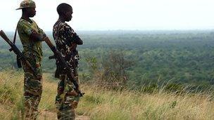 Rangers in Virunga Park