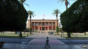 Parliament in Rabat, Morocco, 20 November 2011