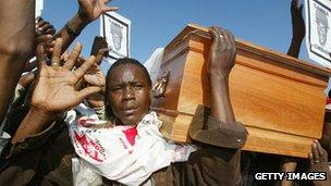 Funeral in Harare