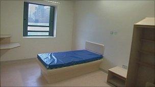 Peaks Unit room