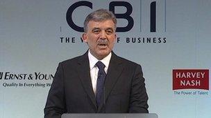 Turkey's Abdullah Gul