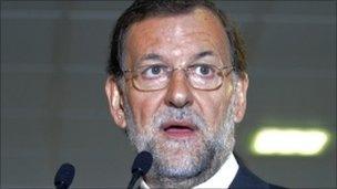 Mariano Rajoy, 18 October 2011
