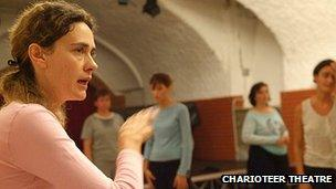 Laura Pasetti. Pic: Charioteer Theatre