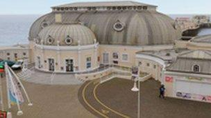 Worthing Pavilion (picture from Worthing Theatres Trust)