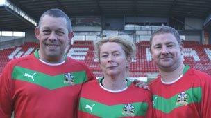 Chris Jones, Kristy Stephenson a Simon Jones