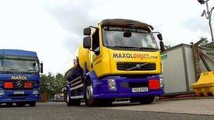 Maxol Direct truck