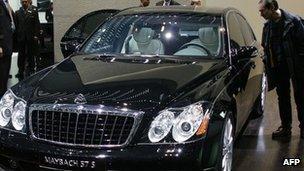 Maybach car