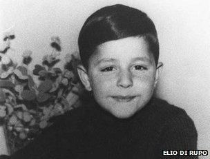Elio Di Rupo as a child