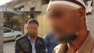 Tawergha prisoners in Misrata, November 2011 (Tarik Kafala)