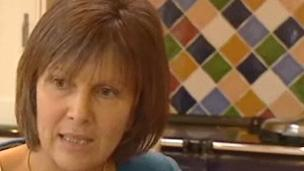 Sue Evans yn 2009