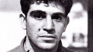 Ronnie Kasrils, May 1961 (picture courtesy of the Natal Mercury)