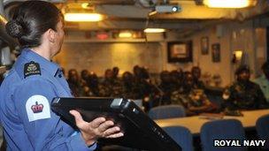 Lecture in Tanzania