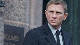 Daniel Craig as Mikael Blomkvist in Girl With The Dragon Tattoo