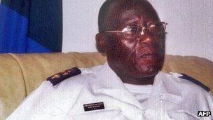 Rear Admiral Jose Americo Bubo Na Tchuto