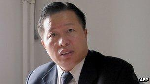 Lawyer Gao Zhisheng, seen here in 2005, has defended human rights activists and minority groups in China