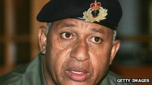 Fiji's military ruler came to power in a coup in 2006.