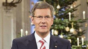 German President Christian Wulff, 21 Dec 11