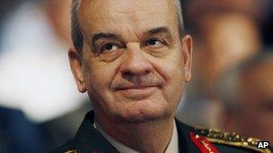 Former Turkish Chief of Staff Gen, Ilker Basbug in a file photo from July 2010