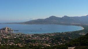 Calvi yn Corsica