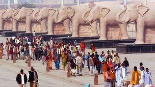 Mayawati's elephants